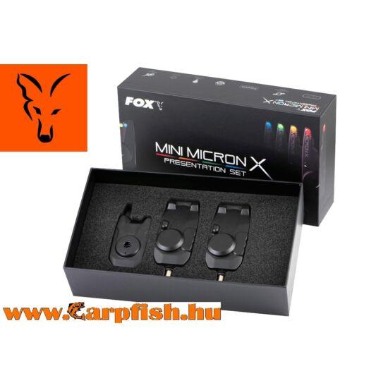 Fox Mini Micron elektromos kapásjelző szett 2+1