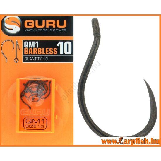 GURU QM1 szakáll nélküli horog 10-es