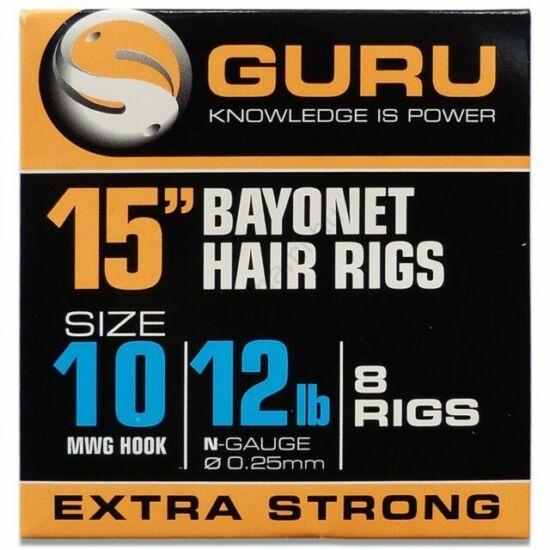 """GURU BAYONET READY RIGS 15""""  előkötött horog"""