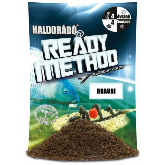 Haldorádó Ready Method Brauni 800g Etetőanyag