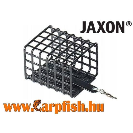 Jaxon Eko Fekete etetőkosár nyitott hátrésszel