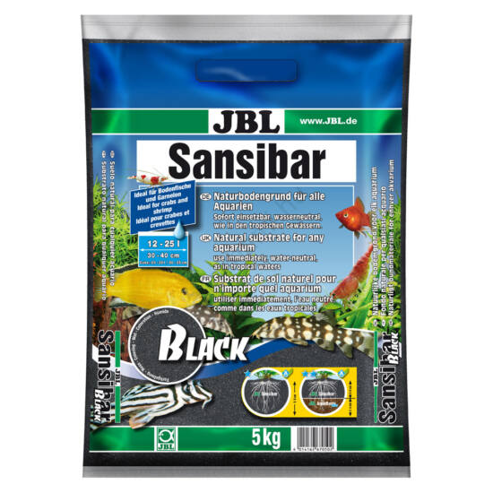 JBL Sansibar Black  fekete homok 5 kg