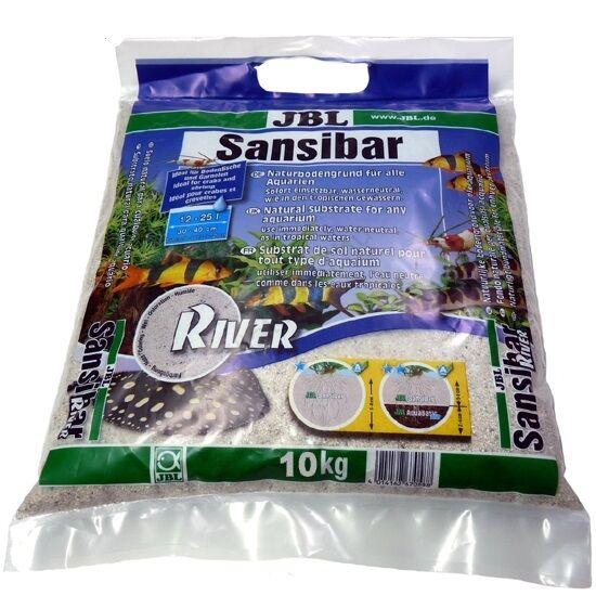 JBL Sansibar River  durvaszemű dekorhomok  10 kg