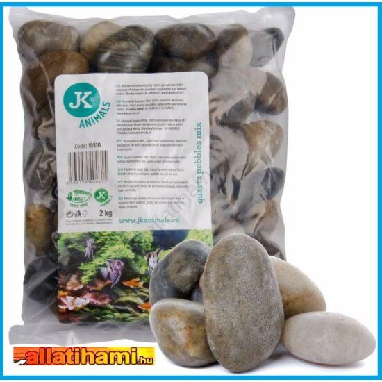 JK Kvarc kavics mix 2 kg  / 3-5cm