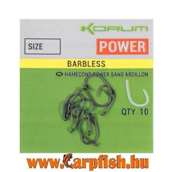 Korum  XPERT POWER BARBLESS HOROG