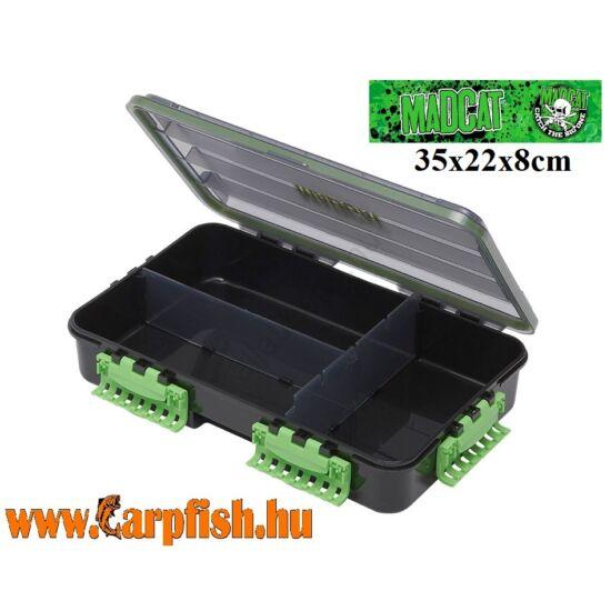 MadCat Tacklebox Doboz 35x22x8cm 3 Részes