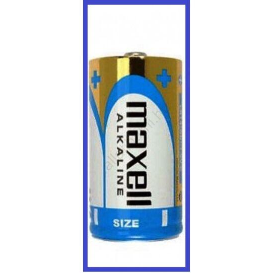 Maxell alkaline  LR20 D tartós (Góliát) elem