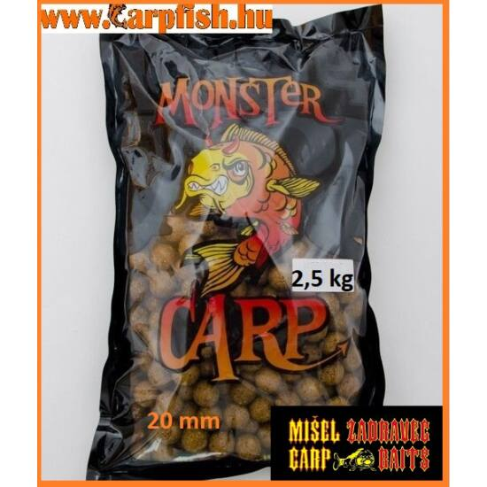 Misel Zadravecz Monster Carp etetőbojli   2,5 kg  20mm