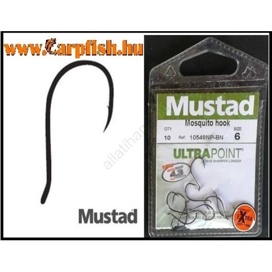 Mustad Ultra  Np Mosquito füles horog
