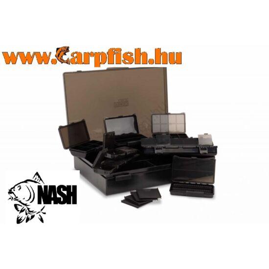 Nash Box Logic Tackle Box Loaded szerelékes doboz Medium
