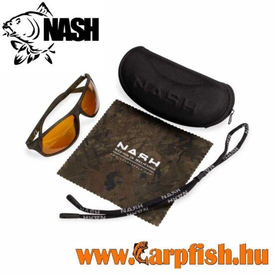 Nash Camo Wraps with Yellow Lenses - Napszemüveg
