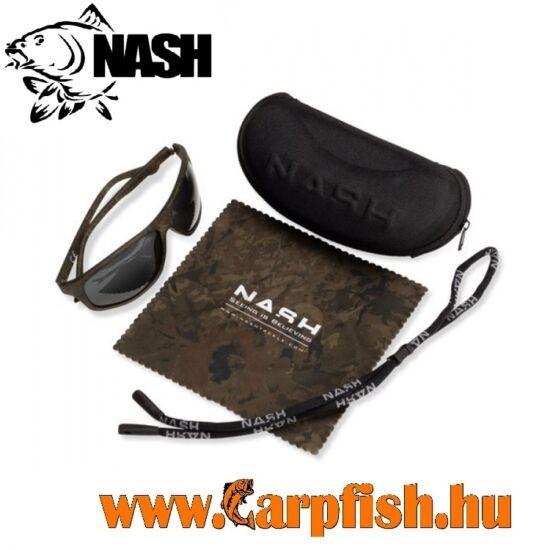 Nash Camo Wraps with Grey Lenses - Napüszemüveg
