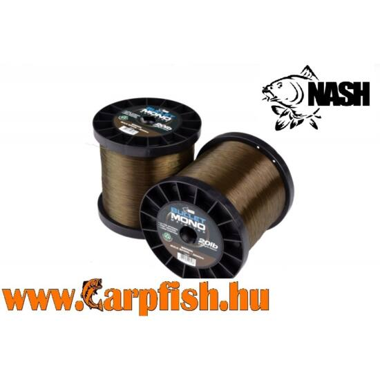 Nash Bullet Mono monofil zsínór  1000 m  15LB barna