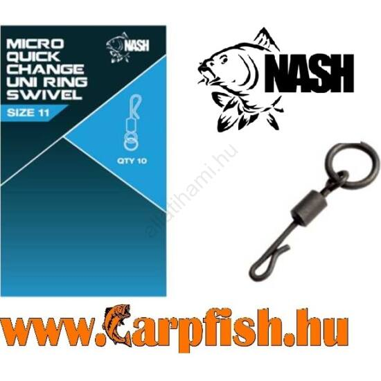 Nash Quick Change Uni Ring Swivel