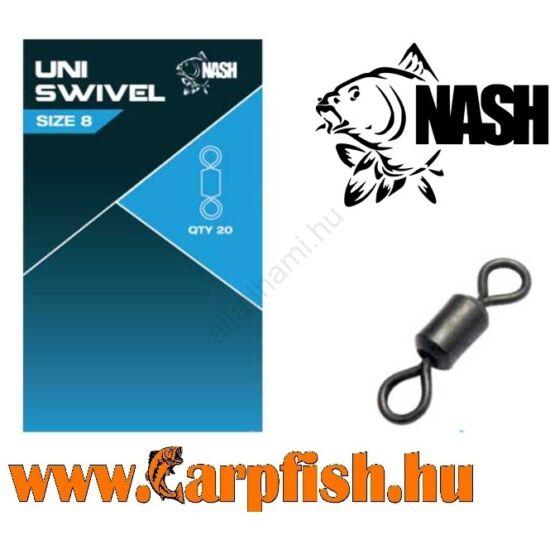 Nash Uni Swivel forgó 8-as
