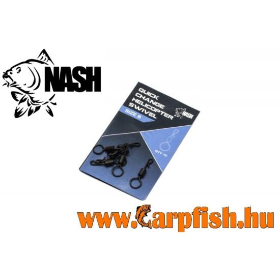 Nash Quick Change Helicopter Swivel 10 db/ csmg