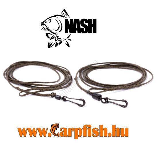 Nash Ready Spliced Cling-On Leaders (előre kötött Leadcore szerelék) 3db/csmg