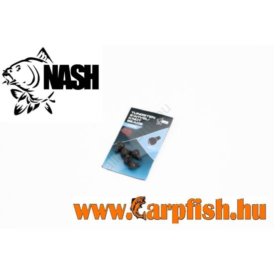 Nash Tungsten Swivel/Knot Beads Small– lebegő csali nehezék