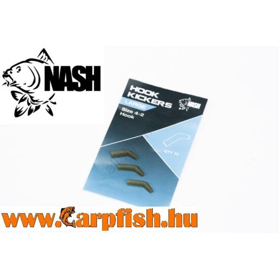 Nash Hook Kickers Large - horogbefordító 10 db/csmg