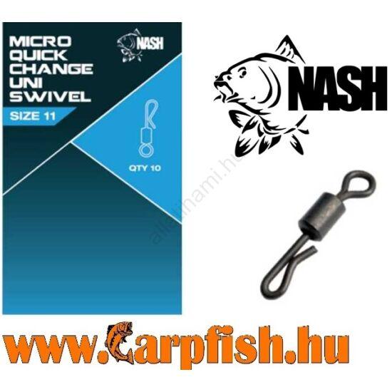 Nash Quick Change Uni Swivel  gyorskapocs 8-as