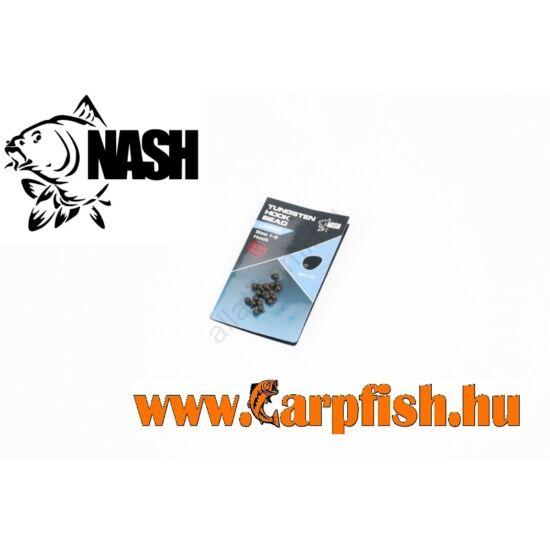 Nash Tungsten Hook Beads S nehezített horog gyöngy 20db/csmg