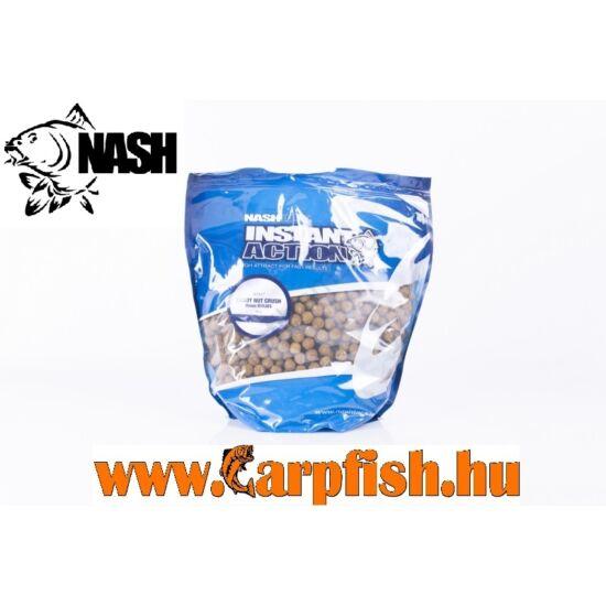 Nash Instant Action Candy Nut Crush Etető Bojli 1 kg/ 20mm(Scopex és tigrismogyoróliszt kombinációja)