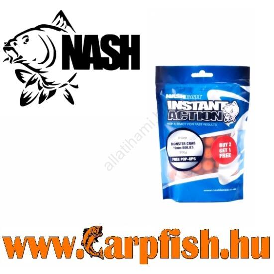 Nash INSTANT ACTION SQUID & KRILL BOILIES 12mm 200g
