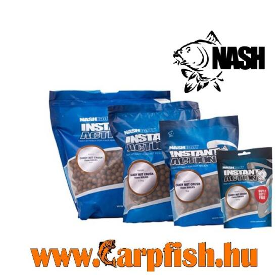 Nash Instant Action Candy Nut Crush bojli 15mm /200 gr
