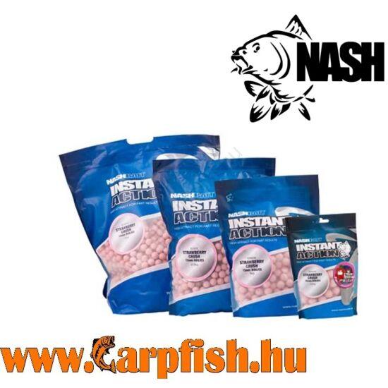 Nash Instant Action Strawberry Crush Etető Bojli  15 mm /5 kg