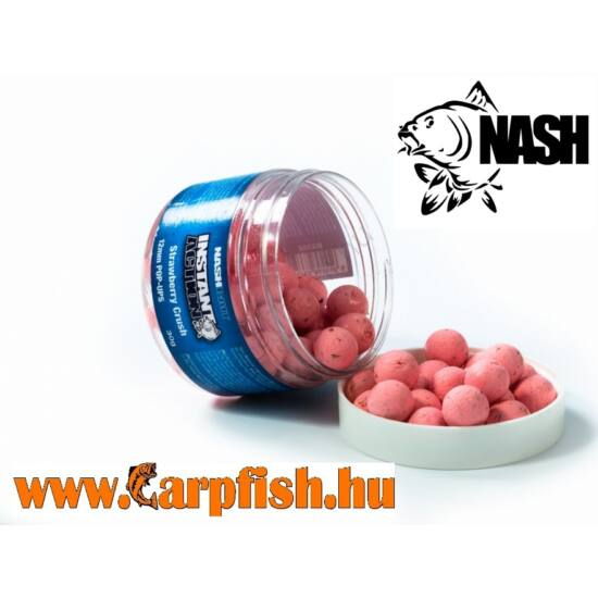 NASH Instant Action Strawberry Crush Pop Ups 12mm 30gr