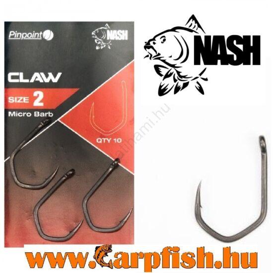 Nash Pinpoint Claw Mikroszakállas bojlis horog