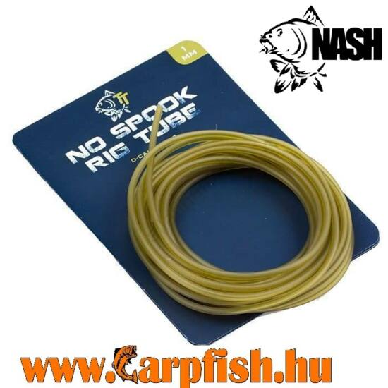 Nash No Spook Rig Tube  1mm /3 m