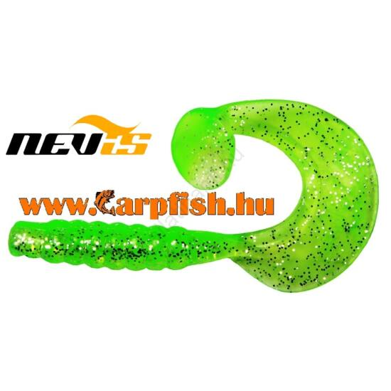 Nevis Vantage twister spira 10cm 5db/cs /neon zöld