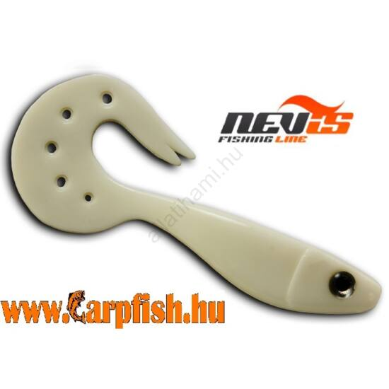 Nevis Twister Shad Vantage 9cm 3db/cs /fehér