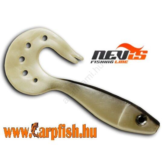 Nevis Twister Shad Vantage 9cm 3db/cs /ezüst-fekete