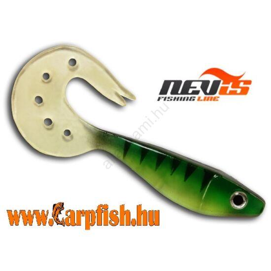 Nevis Twister Shad Vantage 9cm 3db/cs /zöld