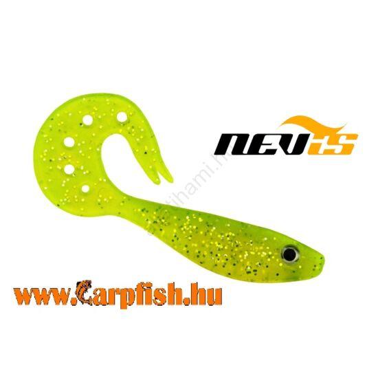 Nevis Twister Shad Vantage 9cm 3db/cs /sárga-csillám