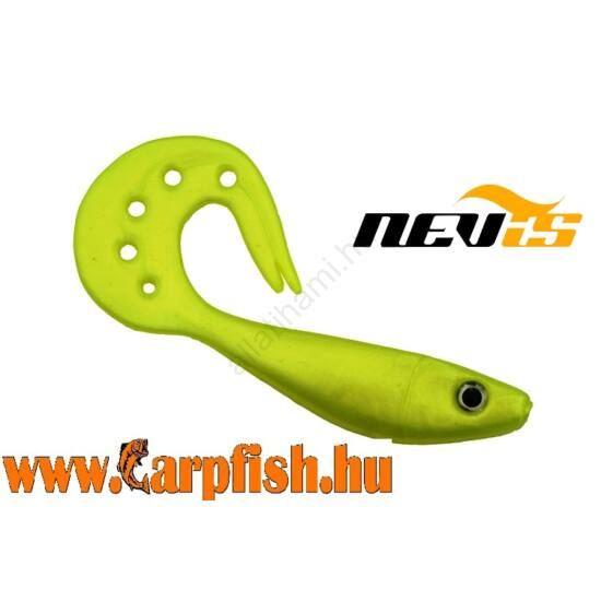 Nevis Twister Shad Vantage 9cm 3db/cs /citromsárga