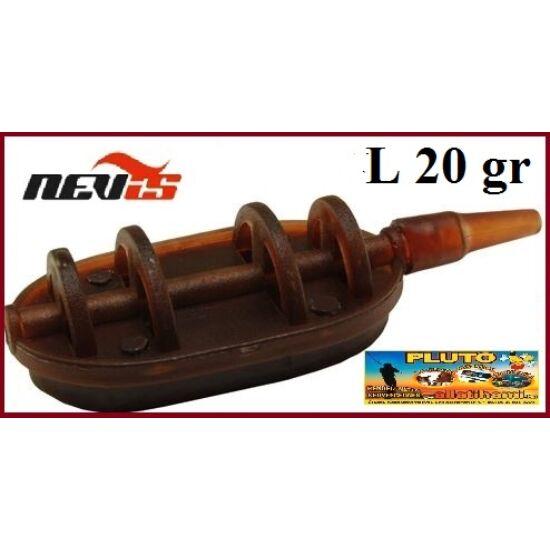 NEVIS Method Flat feeder kosár - 20gr
