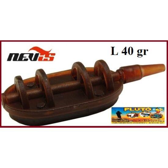 NEVIS Method Flat feeder kosár - 40 gr