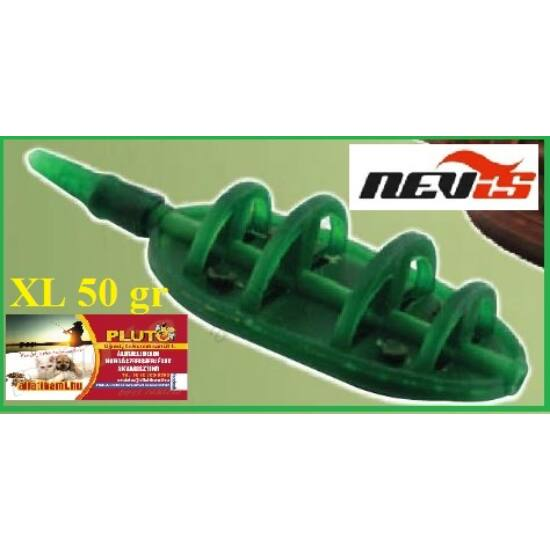 NEVIS Method Flat feeder kosár XL - 50 gr