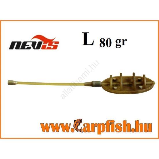Nevis távdobó method feeder kosár    L  80 gr