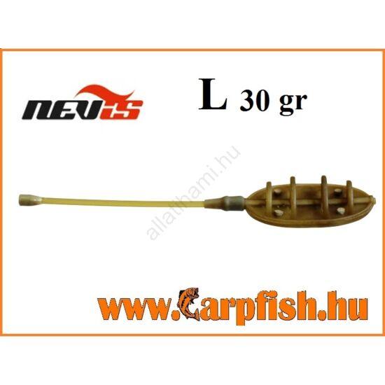 Nevis távdobó method feeder kosár    L  30 gr