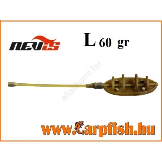 Nevis távdobó method feeder kosár    L  60 gr