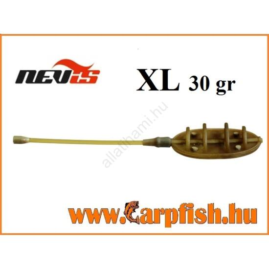 Nevis távdobó method feeder kosár    XL  30 gr