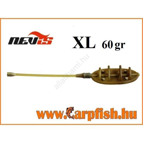 Nevis távdobó method feeder kosár    XL  60 gr
