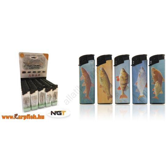 NGT Electronic Lighter -butane gáz öngyújtó elektromos