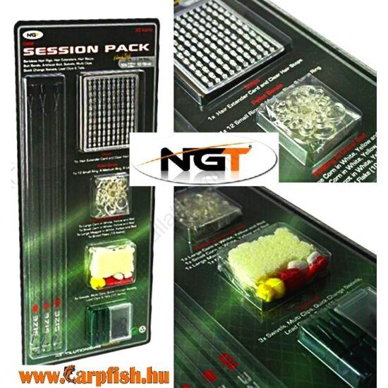 NGT Complete Session Hair Rig and Terminal Tackle Pack (komplett szerelék készlet)