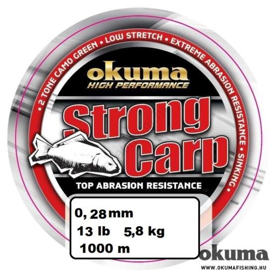 Okuma Strong Carp pontyozó zsinór  0,28  mm  1000 m