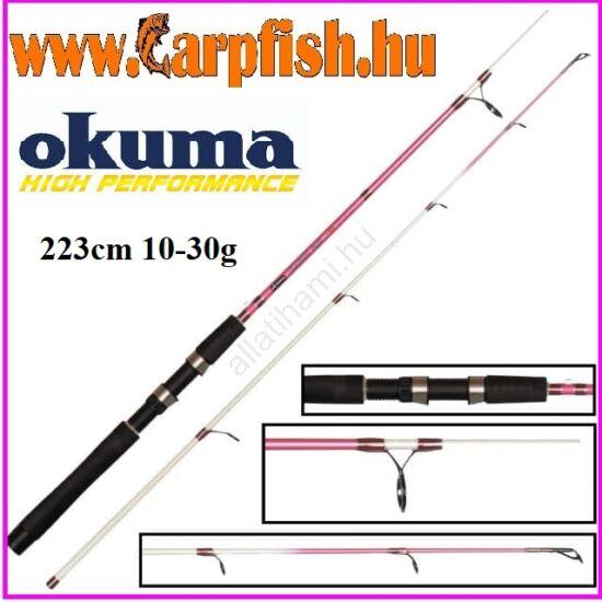 Okuma Classic UFR Pink 223cm 10-30g Pergető Horgászbot